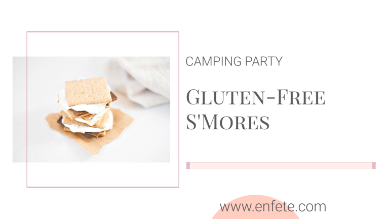 Gluten-Free S'mores for a camping party