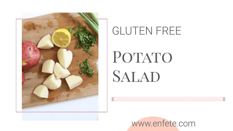 Gluten Free SPring Herb Potato Salad