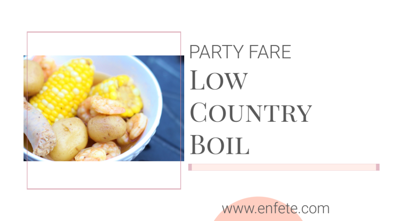 Hilton Head Low Country Boil