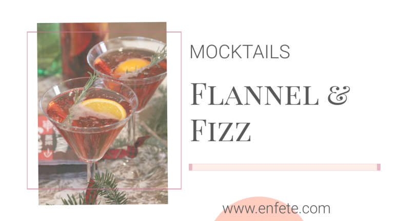 flannels and fizz lumberjack mocktail