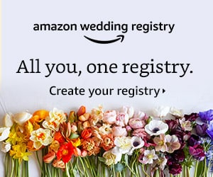 Amazon wedding Registry link from EnFete Party Decor Shop