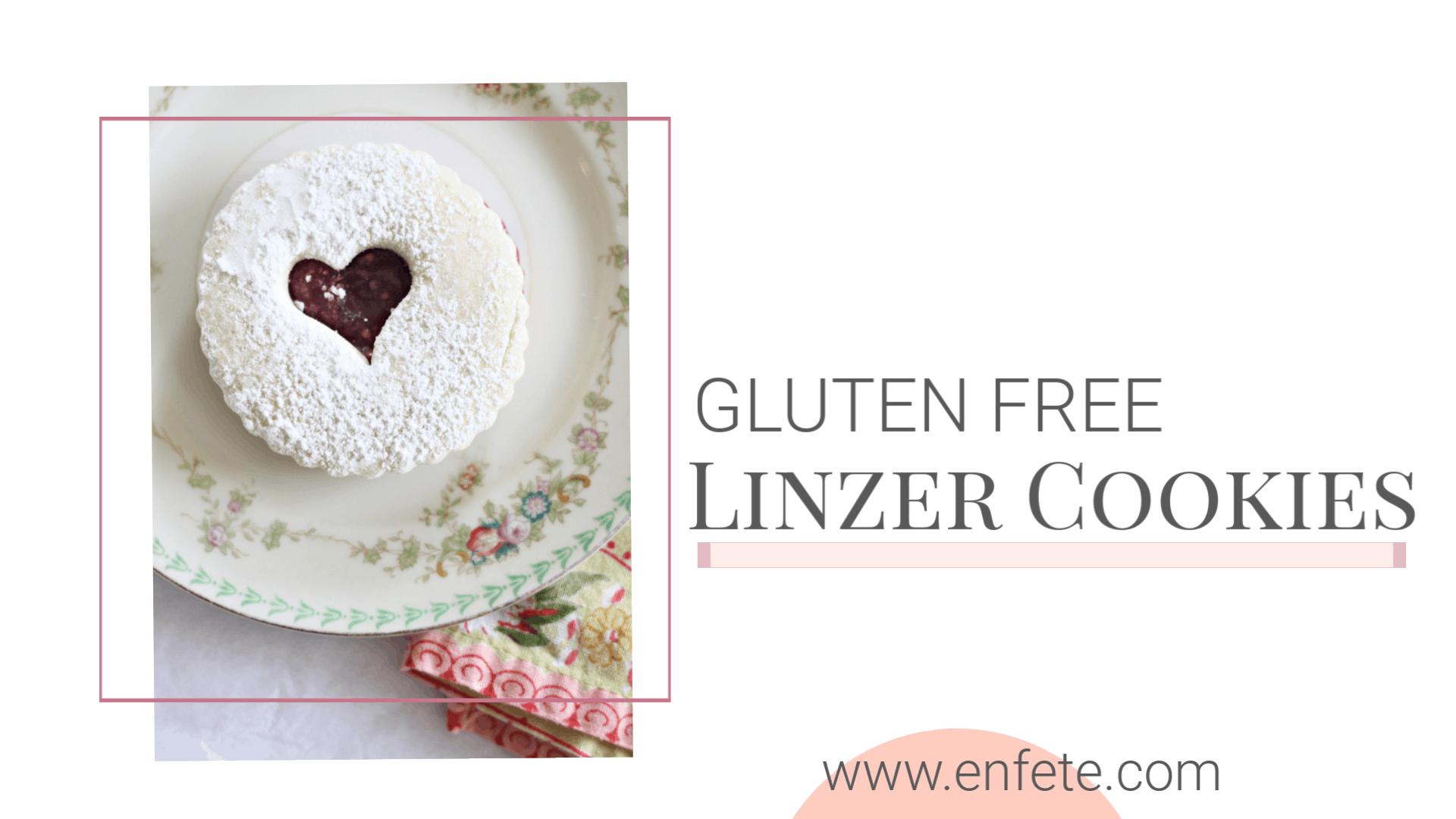 gluten free linzer cookies horz