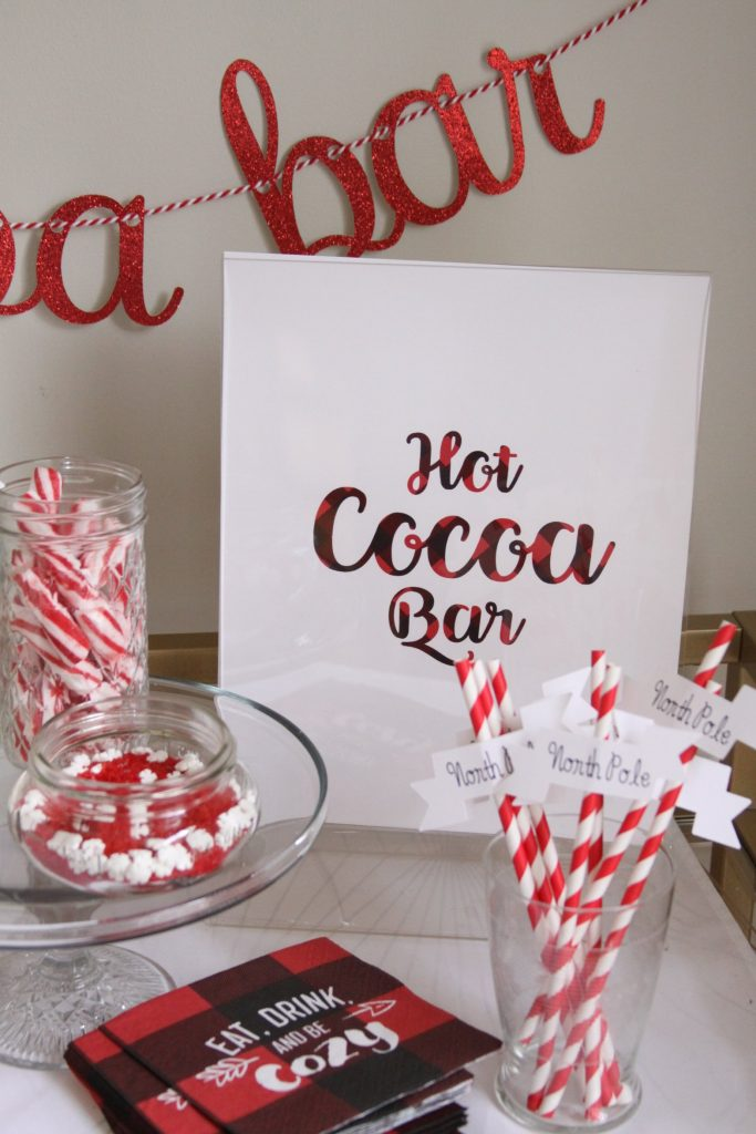 HOt Cocoa Bar Printable