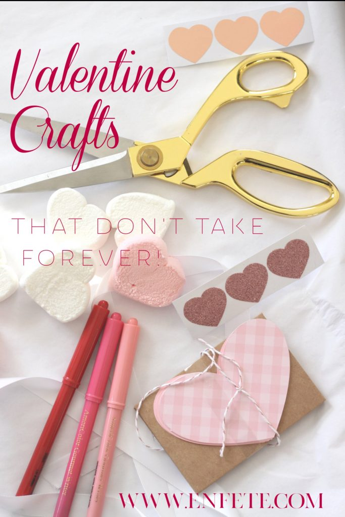 quick valentine crafts for your valentine that don't take forever to make