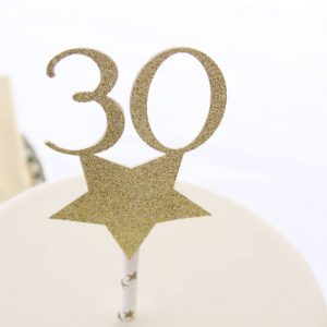 30th Birthday Cake Topper