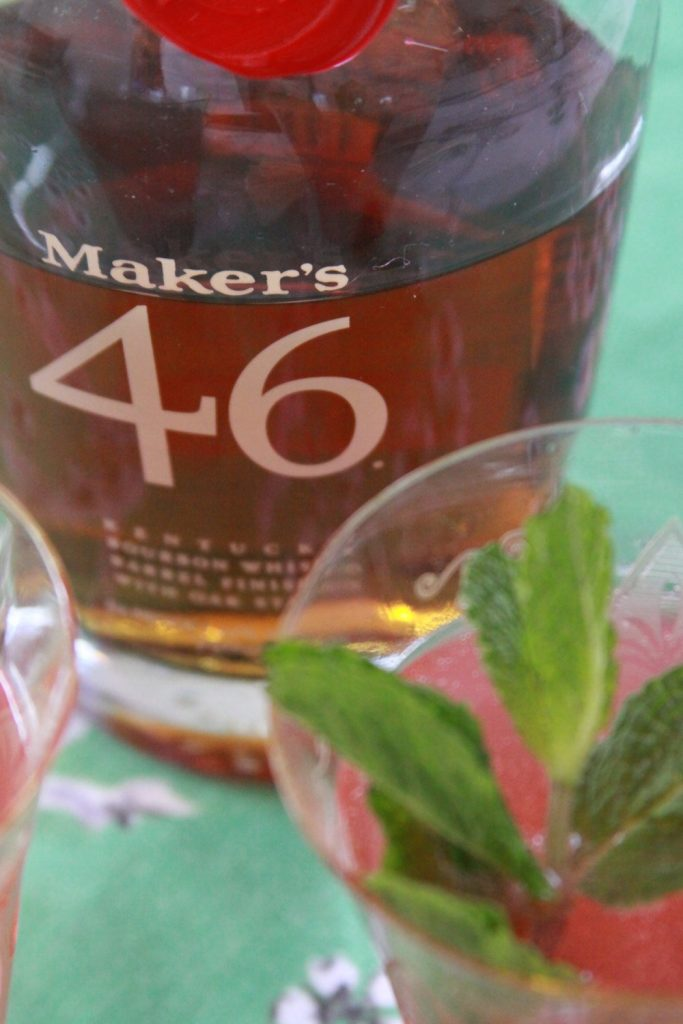 Kentucky Derby Cocktail made with Maker's 46 from Maker's Mark.