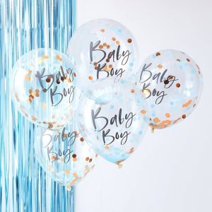 Baby Boy Baby Shower Balloons