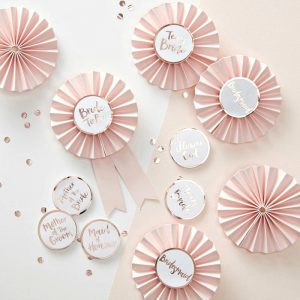 Bridal Party Badges