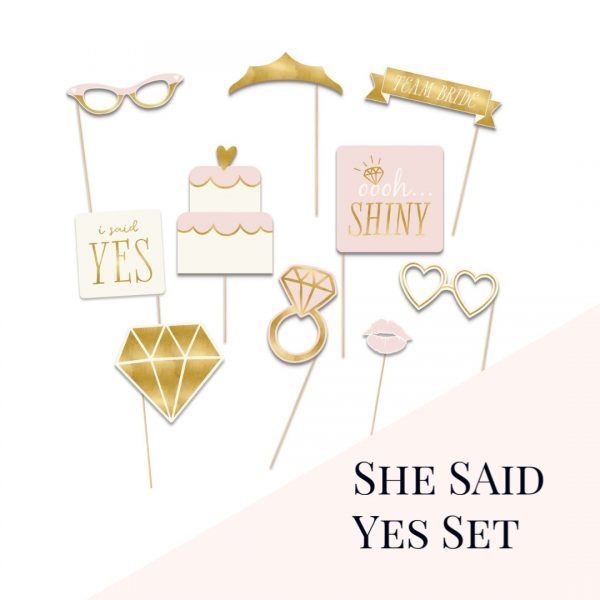 She Said Yes Props Set from Enfete