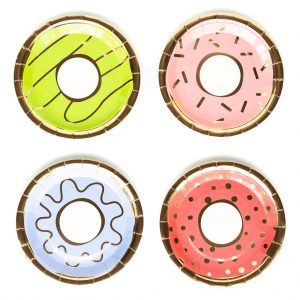 Donut Grow Up Plates