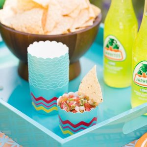 Fiesta Party Cupcake Liners or Food Cups Cinco De Mayo or Day of the Dead