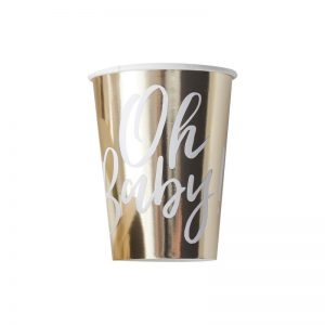 high end oh baby paper cups