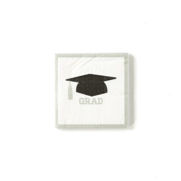 Grad napkins for a beautiful graduation party
