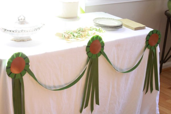 Derby Bridal Shower Garland in Green - available in other colors
