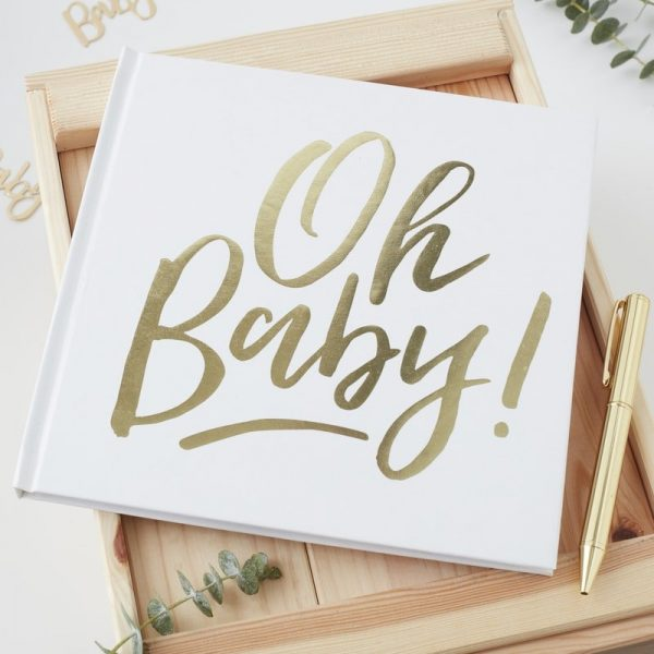 Oh Baby Shower Guest Book