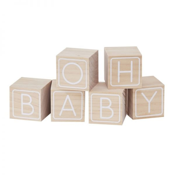 oh baby guest book blocks guestbook
