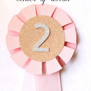 Number Horse Show Cake Topper for Pony Party