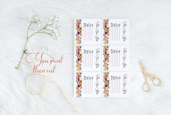 printable kentucky derby party wager cards