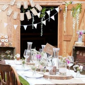 Derby Bridal shower or rustic country wedding banner