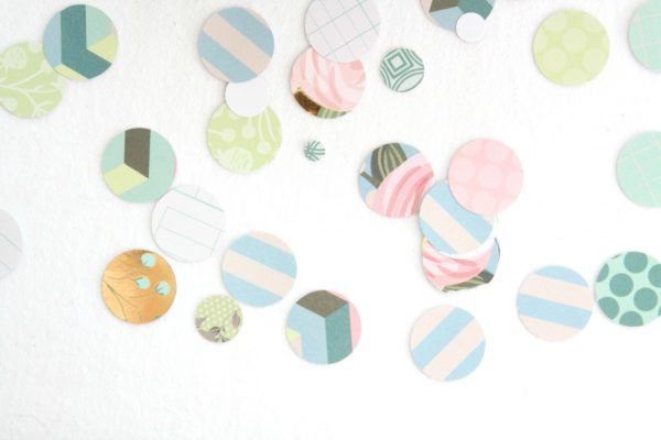 Shabby Chic Baby Shower Confetti