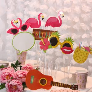 Tropical Party Photo Props - Luau