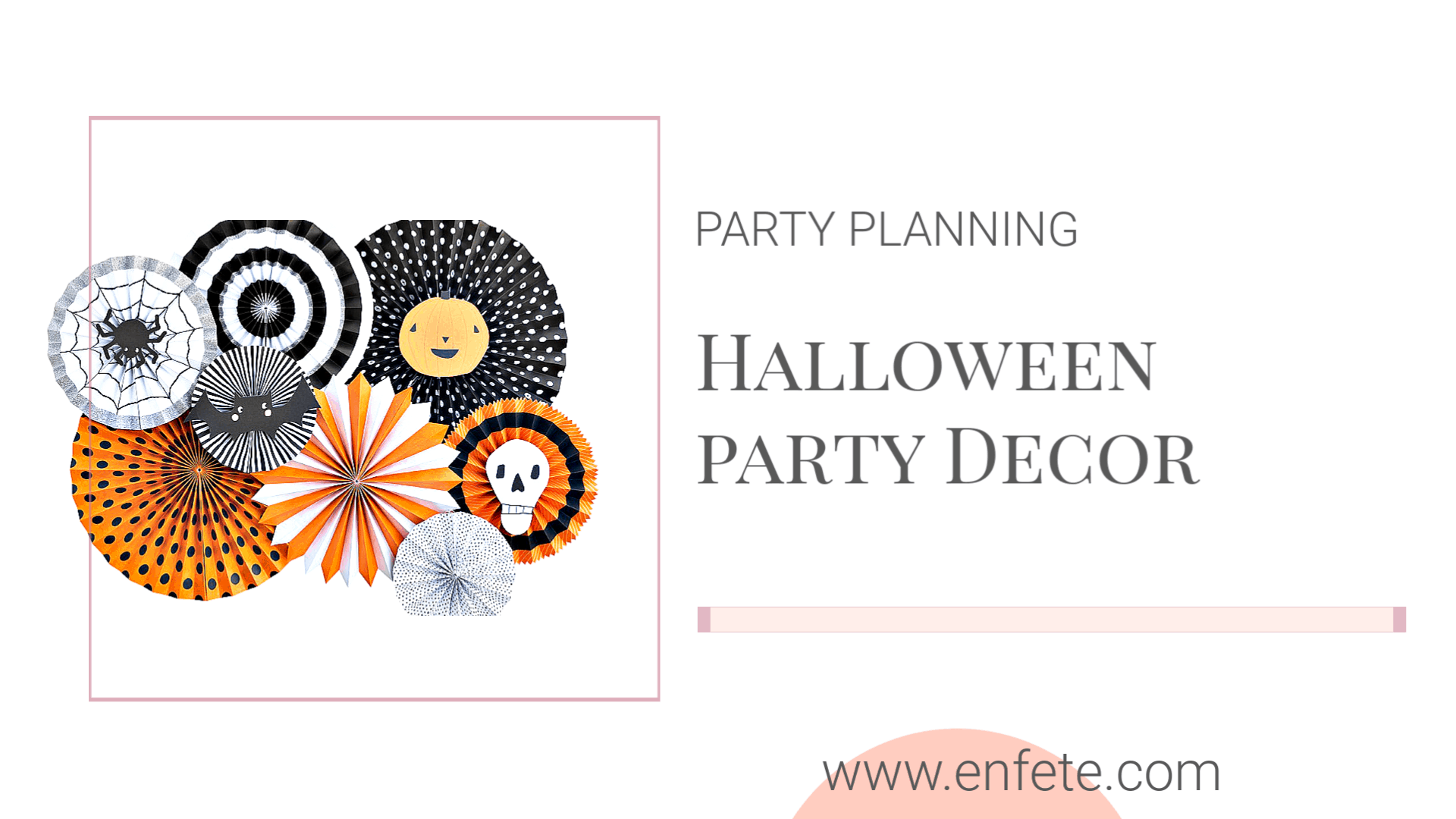 Halloween Party Decor for 2019