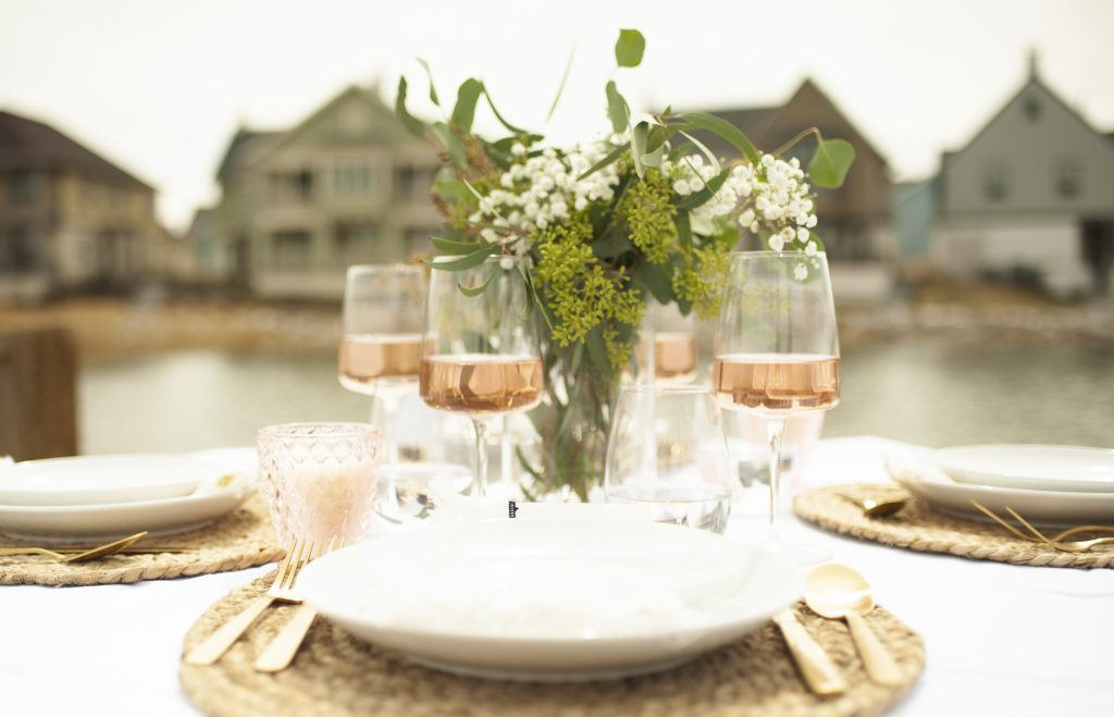 Blush wines for late summer entertaining