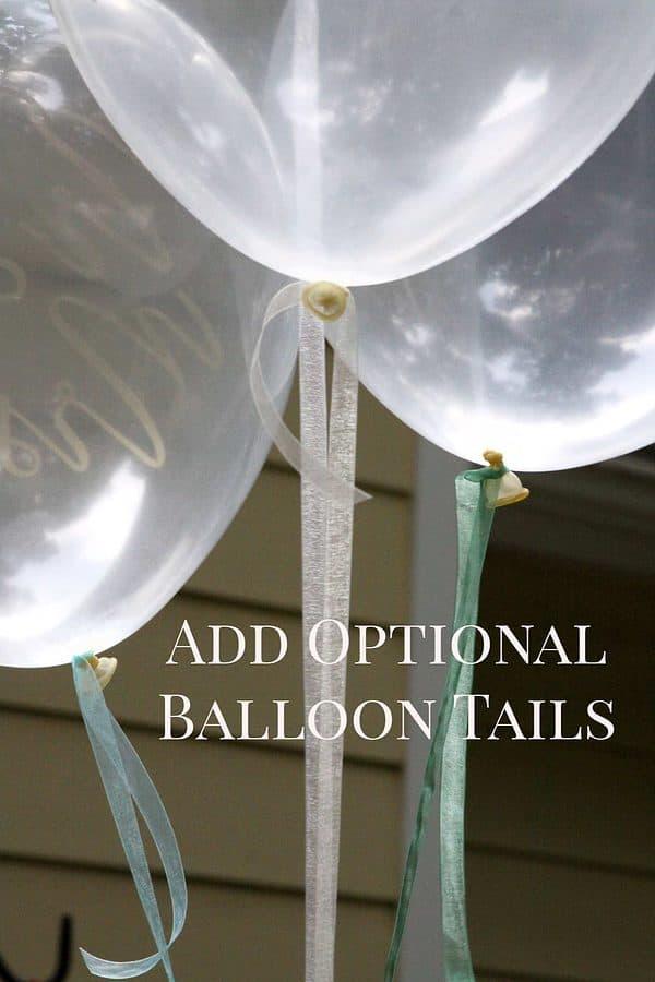 Optional Balloon Tails