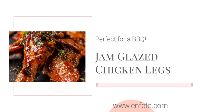 Gluten-Free Jam Glazed Chicken Legs
