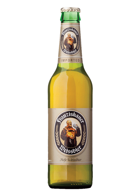 SPATEN FRANZISKANER HEFE-WEISSE German beer for fall entertaining and a Halloween Party