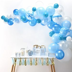 Baby Blue Balloon Garland Kits