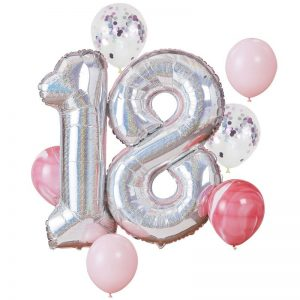 18th birthday party supplies for a girl or boy birthday