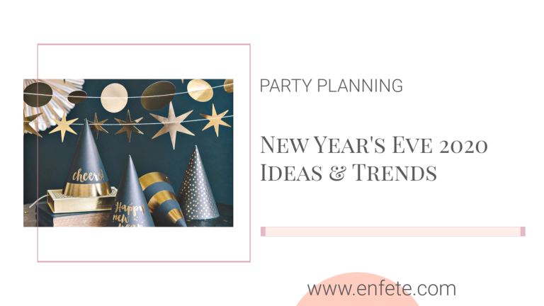 New Year's Eve 2020 Party Ideas and Trends