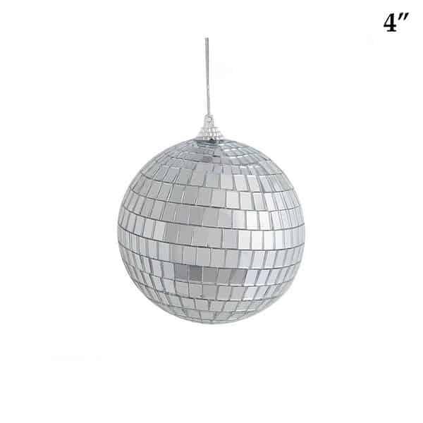 4 inch mirrored disco ball