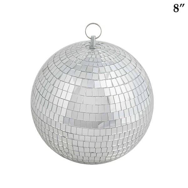 8 inch mirrored disco ball