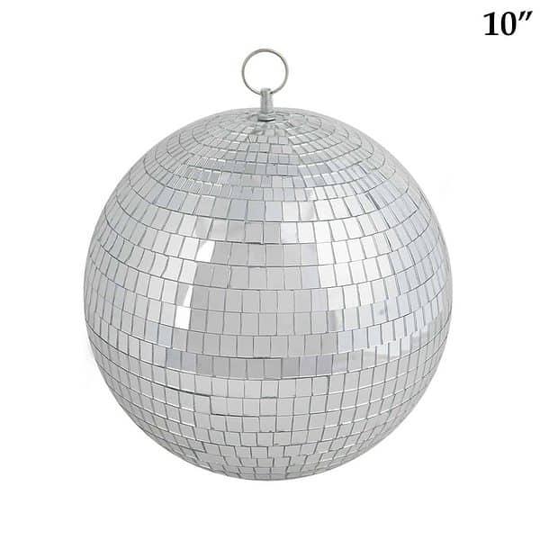 10 inch mirrored disco ball