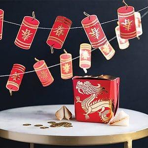Chinese New Year Firecracker Banner