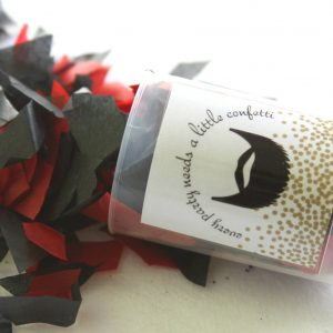 Lumberjack party confetti perfect for a baby shower or birthday