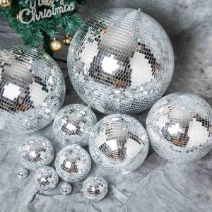Mirrored Disco Balls