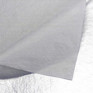 silver foil tissue paper