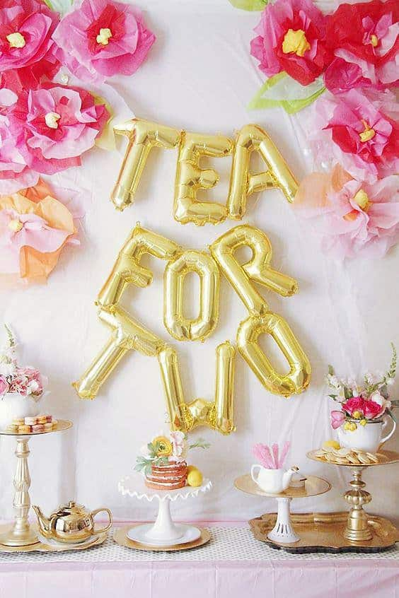 Tea for Two 2nd birthday party