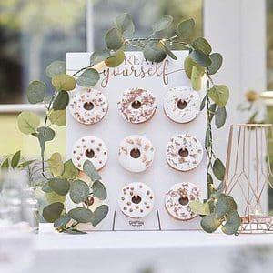 Eucalyptus Vine Fairy Lights for a wedding, baby shower or bridal shower.