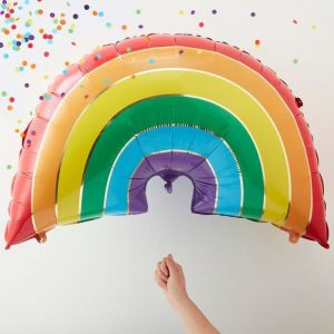 Large Rainbow Arch Balloon for a Party