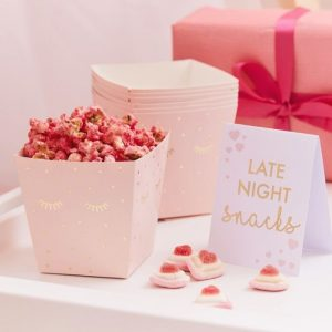 Late night snack bar snack containers or sign perfect for a sleepover party