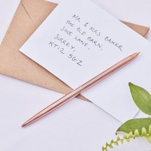 Rose Gold Guest Book Pen