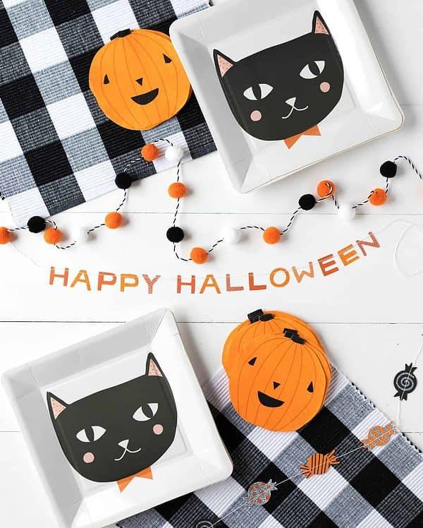 Happy Halloween Banner fun Halloween Decor for Kids