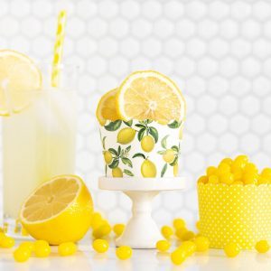 Lemon Party Baking Cups and Cupcake Wrappers