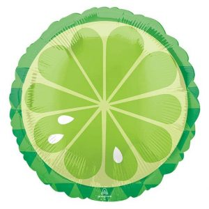 Lime Slice Tequila Bar Balloon for a Tropical Bridal Shower or Margarita bar