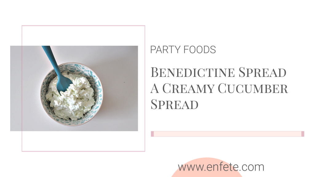 Benedictine Spread - a traditional Kentucky Derby Finger Food.  Perfect for a bridal shower, baby shower or wedding shower.