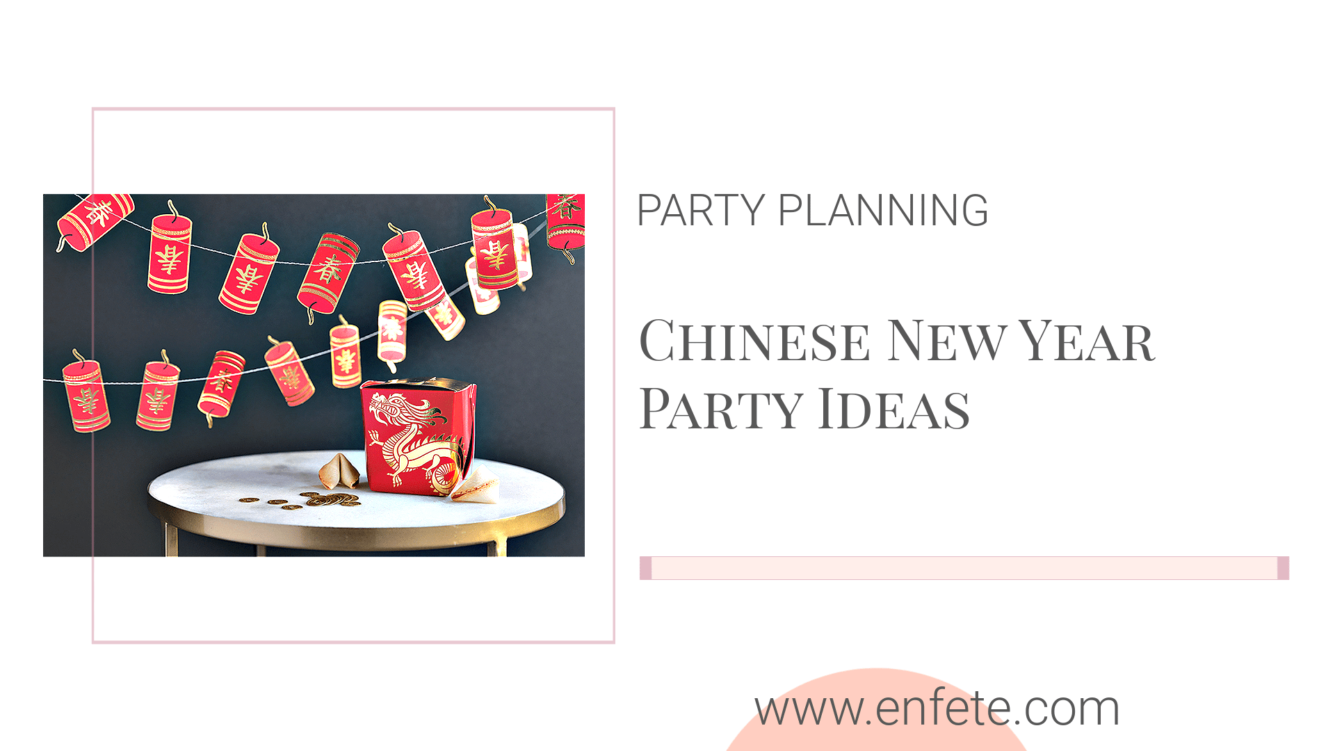 Chinese New Year 2021 Party Ideas for the Year of the Ox